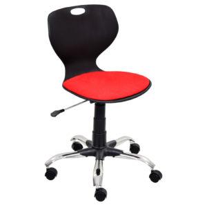 Bloom-Secretarial-Chair-With-Padding-BK