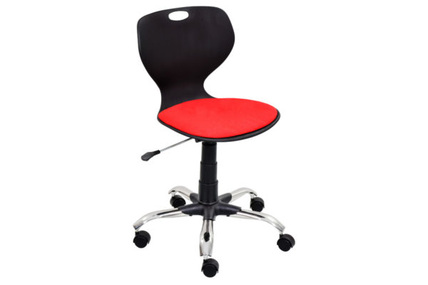 Bloom-Secretarial-Chair-With-Padding-BK