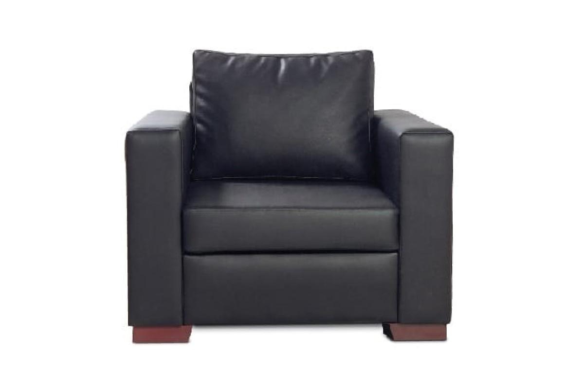 Riga Single Seater Leather Sofa   Infinity Furniture Limited