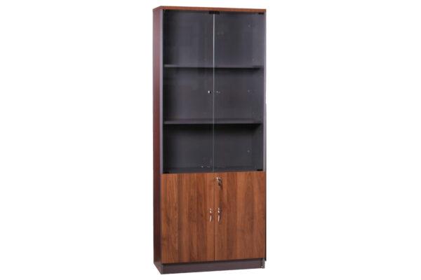 ER-Series-High-Cabinet-Half-Glass-Half-Wooden-Doors