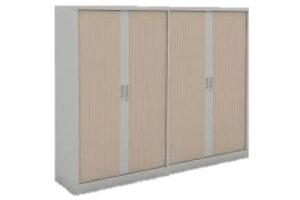 TAK-Double-Medium-Cabinet-Tambour-Shutter-Doors