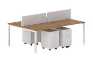 4-Way-Workstation-Wooden-Screen-Panels